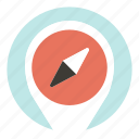 business, compass, digital, marketing icon