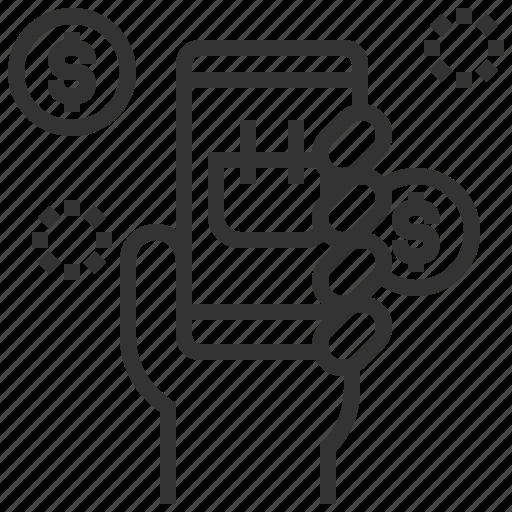 commerce, digital, ecommerce, marketing, shopping icon