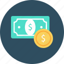 business, cash, dollar, finance, note, papermoney icon
