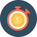 business, dollar, finance, meter, speedometer icon