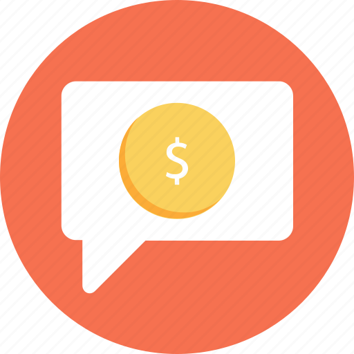 business, business chat, chat, dollar, finance icon