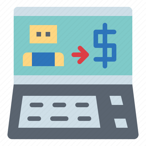 advertising, digital, marketing, tool icon