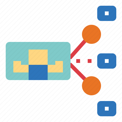 content, file, multimedia, sharing icon
