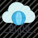 cloud, internet, think, technology
