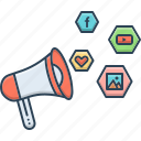 campaign, management, social, social campaign, survey icon