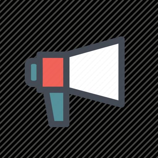 digital, emarket, marketing, megaphone, shopping icon