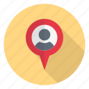 location, map, pinpoint, profile, user