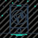 cellular, marketing, mobile, mobile marketing, technology icon