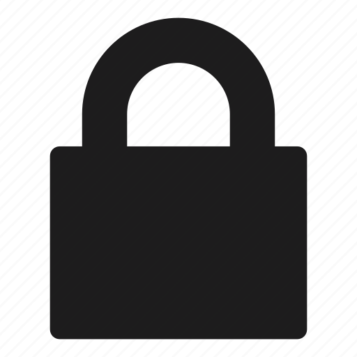 lock, locked, protect, protection, safe, safety, secure icon