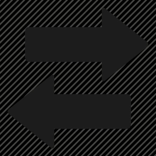 arrows, change, move, transaction, transactions icon