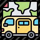 digital, map, nomad, telecommuting, travel