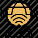 bandwidth, high, internet, speed, wifi