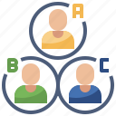 customer, digital, market, media, online, team, types