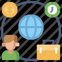 business, digital, freelancing, market, marketing, media, online icon