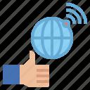 business, digital, good, internet, market, media, online icon