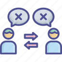 compromiser, conciliatory, friendly, negotiation, peace icon