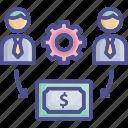 employee, employment, finance management, management, payment icon
