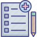 charge, fee, form, invoice, medical invoice icon