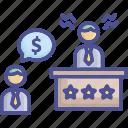 compensation, demand, ignore, l, negligence, suing icon