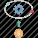 based, market, pricing, up, upward market icon