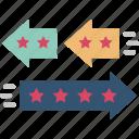 change, convert, differentiation, innovative, unique icon
