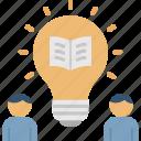 education, instruction, knowledge, learning, pedagogy icon