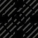 differentiation, element, exclusive, product, unique icon