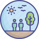 biome, ecology, environment, forest, nature icon