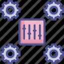 command, configuration, control, management, system icon