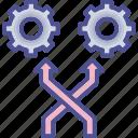 change, convert, modify, switch, transform icon