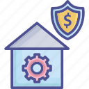 business, capital, lean, stability, workstation icon