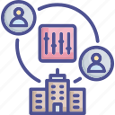 configuration, control, principle, regulation, restriction icon