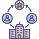 achievement, aim, approach, goal, objective icon