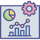 business, chart, presentation, profit, reporting icon