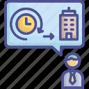 avatar, devotion, employee, enthusiasm, responsibility icon