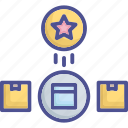 brand, brand awareness, differentiation, novelty icon