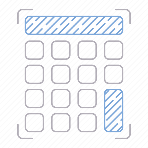 accounting, calculator, digital services, math icon