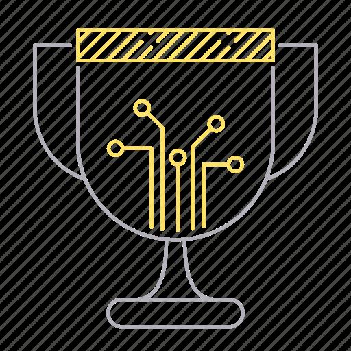 digital, digital services, reward, trophy, winner icon