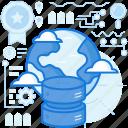 database, earth, global, globe, international, planet, server