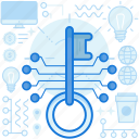 key, lock, master, network, protection, share, unlock