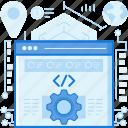 browser, code, coding, gear, programming, webpage, website