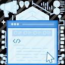 browser, coding, cursor, pointer, programming, webpage, website