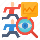 analysis, business, competitor, strategy icon