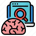 bain, discovery, business, sense icon