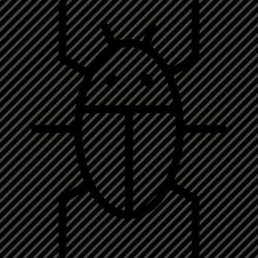 antivirus, beetle, bug, insect, nature, pest icon
