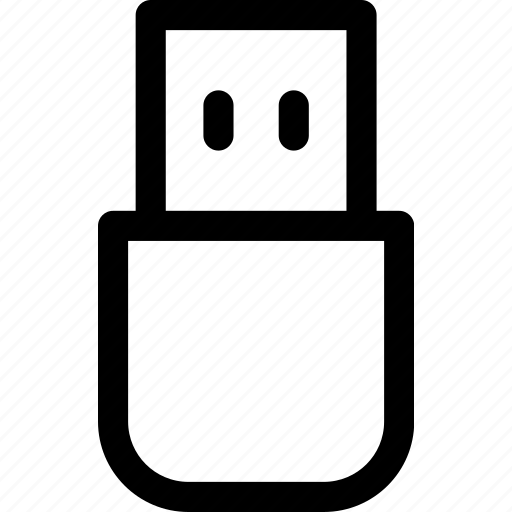 data, drive, flash, memory, stick, storage, usb icon