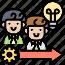 employees, talent, creative, skill, forward