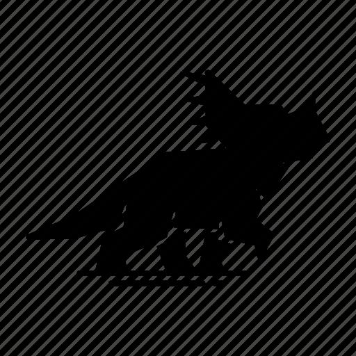 Animal, dinosaur, rhino, sinoceratops icon - Download on Iconfinder