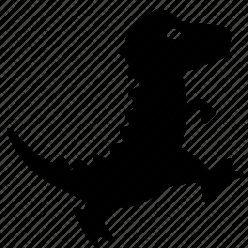 dino, dinosaur, dragon, small, walk icon