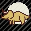 antiquity, dino5, evolution, extinction icon